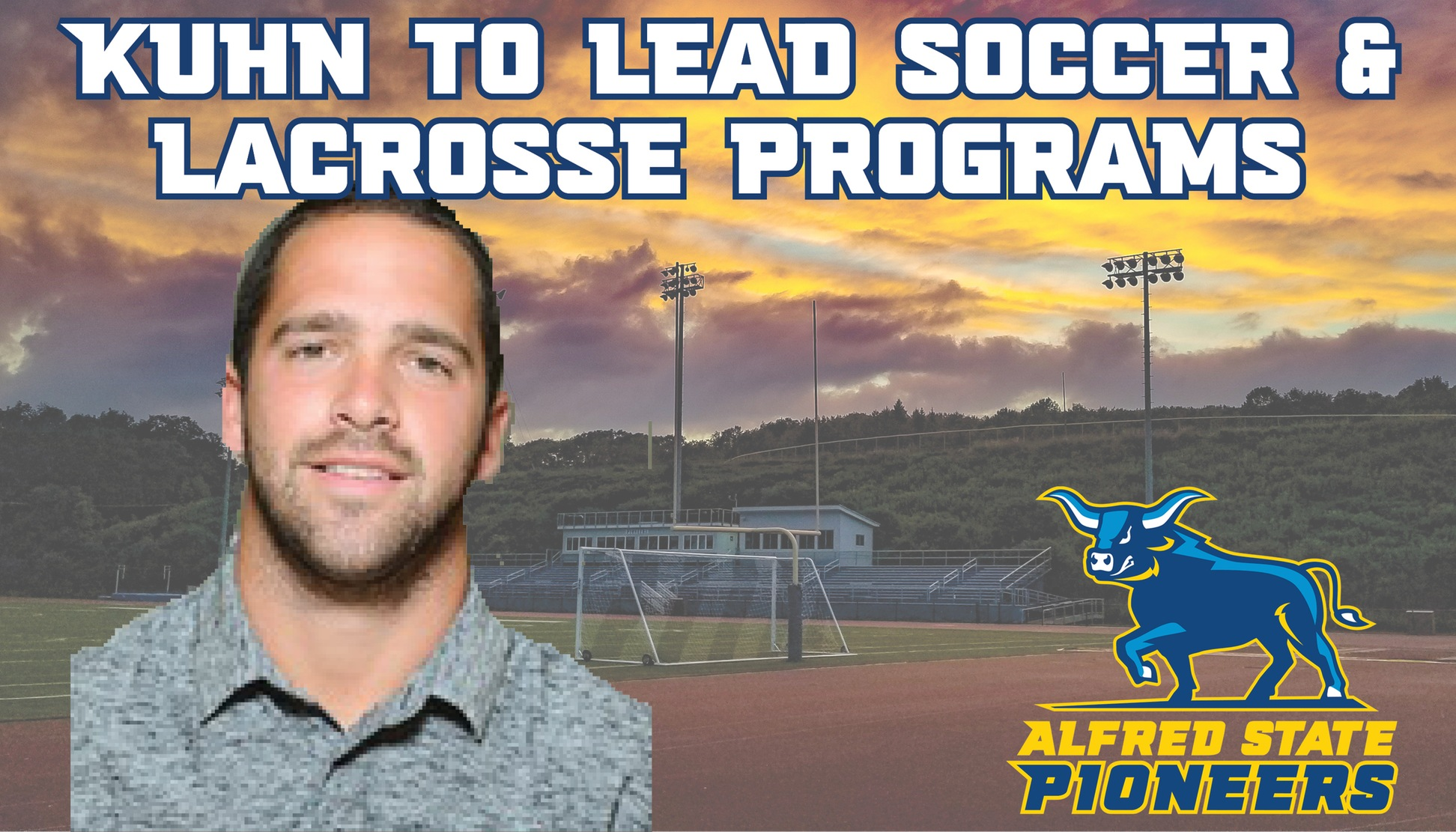 Gabe Kuhn Named new Soccer and Lacrosse Coach