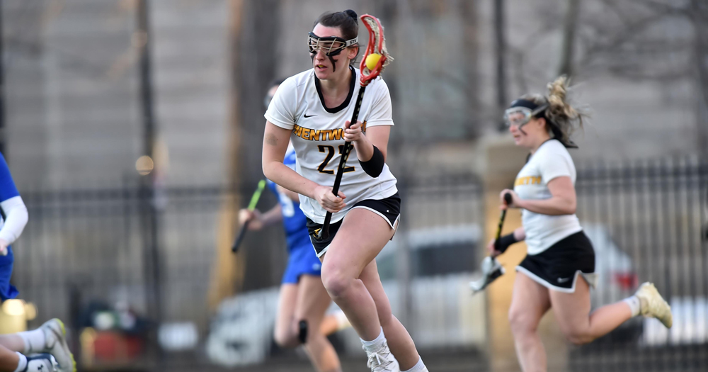 Galan Propels Women's Lacrosse to Victory over Wellesley