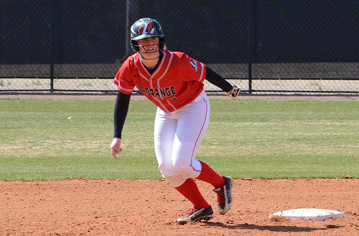 Softball: Panthers pound out 26 hits in taking USA South doubleheader from William Peace; 11-0, 8-6