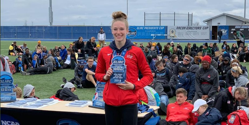 Cardinals finish 4th at 2019 GLIAC Outdoor Championships