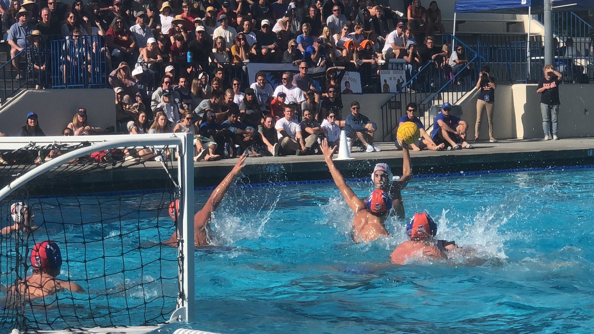 Men's Water Polo Comes Up Short in SCIAC Finals to Top-Seeded Pomona-Pitzer