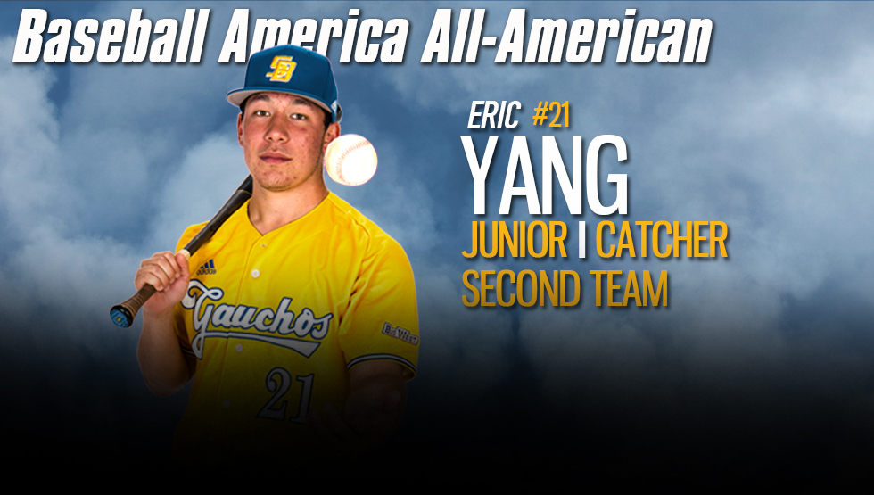 Baseball America Names Yang to Second Team All-America