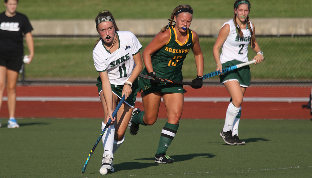 Brockport defeats Sage field hockey, 4-0