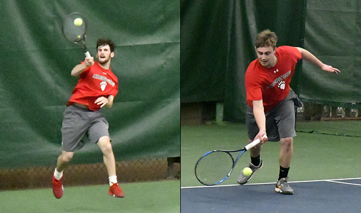 Zazove and O'Brien Claim Conference Titles in Singles
