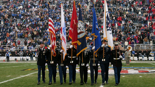 Veterans to Recieve Free Tickets to Saturday's Football Game Against North Dakota
