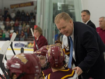 "Bulldog hockey coach Bob Daniels will be one of the featured speakers at the ""Drop The Puck Night"" event."