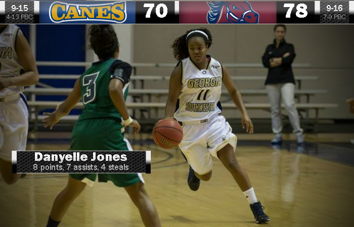 Lady 'Canes Unable To Come Back From Early Lead