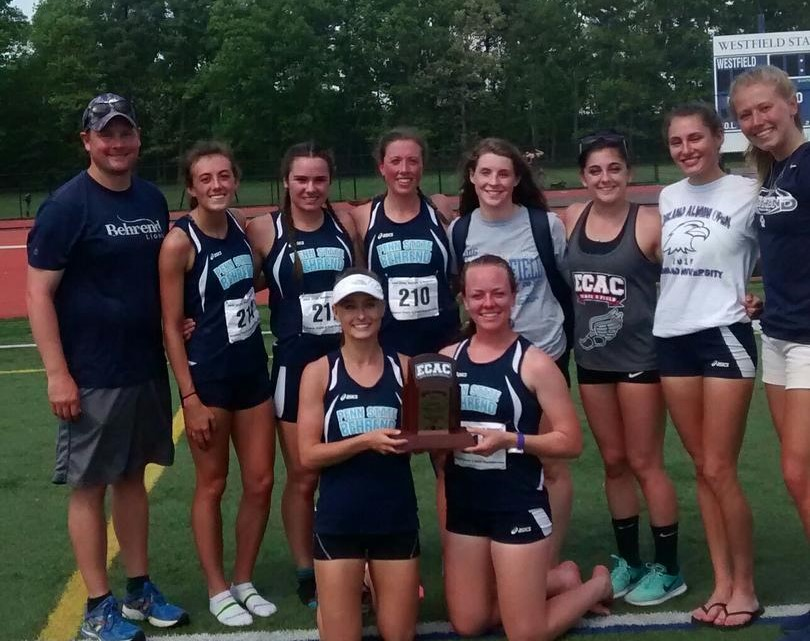 Women's Track & Field Places Third at ECAC Outdoor Championships; Highest Finish in Program History