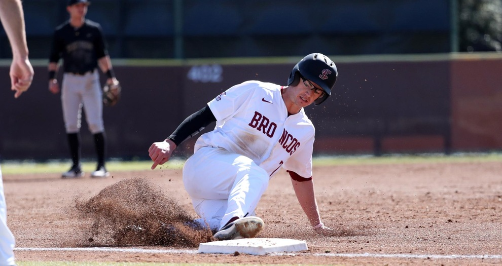 Baseball Continues Homestand With Midweek Game Versus Nevada