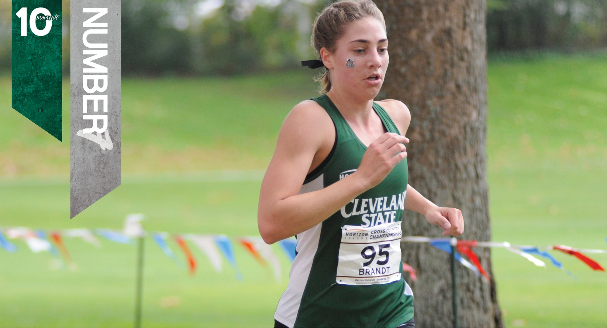 2017-18 CSU Athletics Top 10 Moments | #7 - Anna Brandt Leads Cross Country at Horizon League Championship