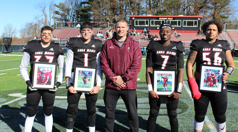 Football Dominates on Senior Day to Take Down Gallaudet, 53-14