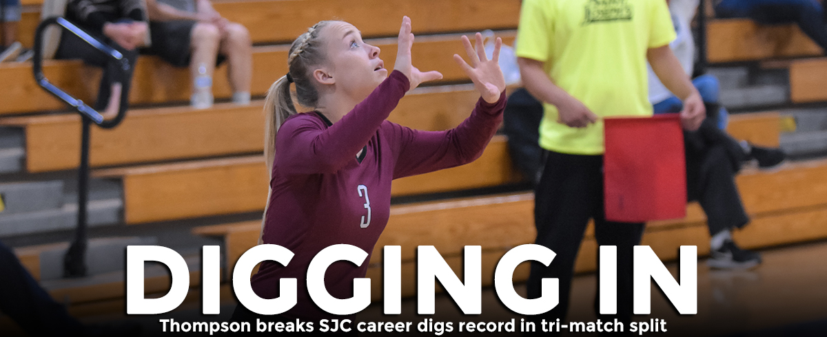 Saint Joseph's Splits Tri-Match, Thompson Breaks Program Record