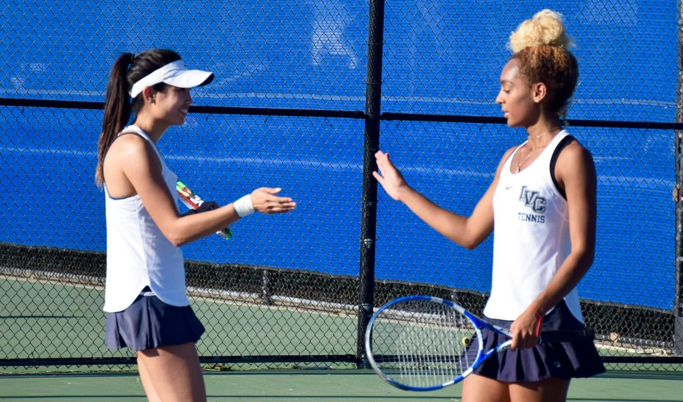 Women's tennis team makes history with top ranking in So. Cal.