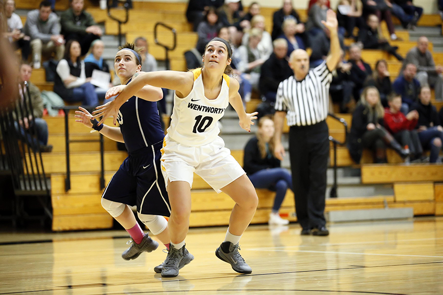 Women's Basketball Closes First Semester With Loss at Emerson