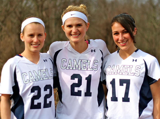 #5 Middlebury College 18, Connecticut College 3 Hogan Collects Three GBs for Camels