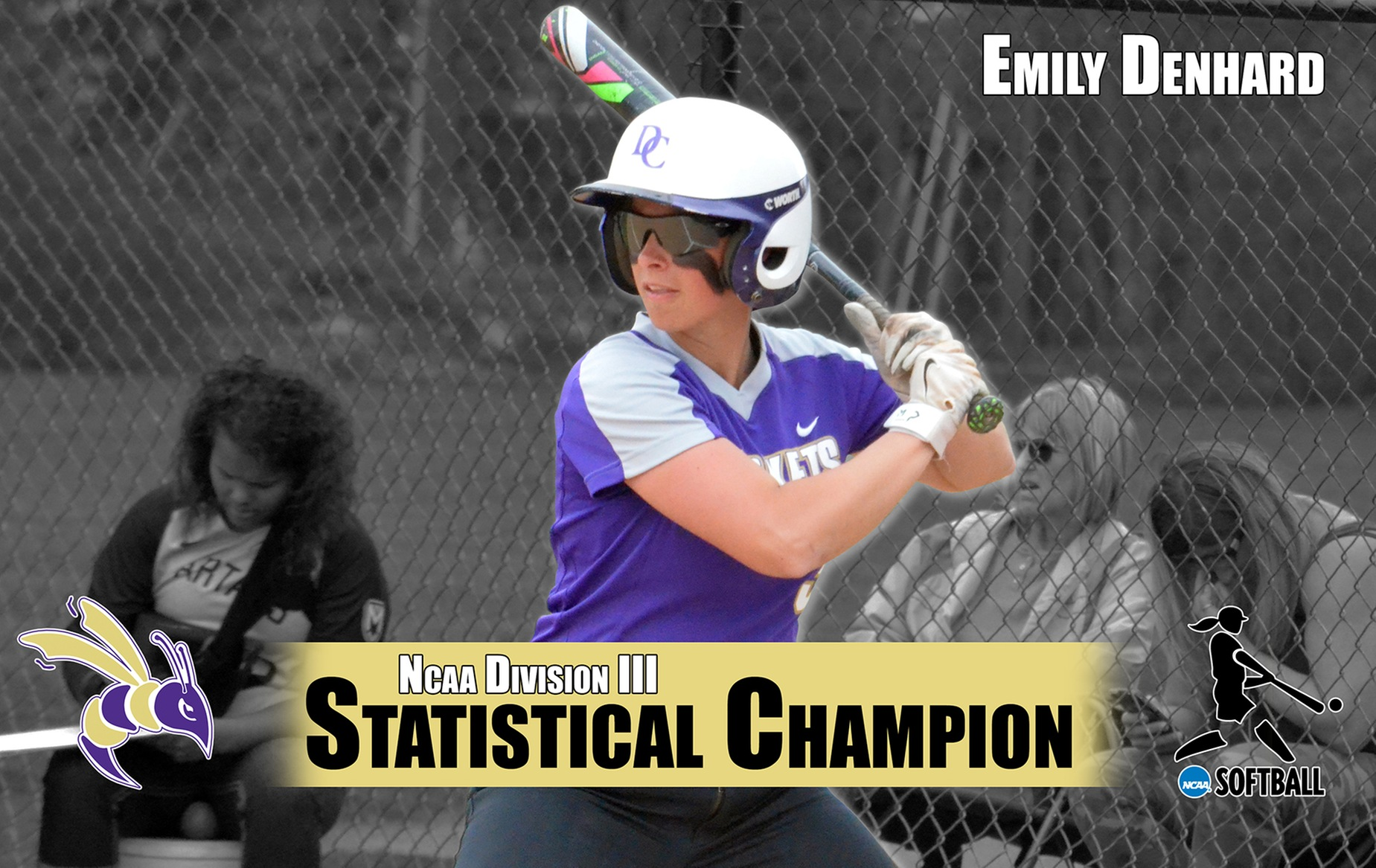 Emily Denhard Named NCAA Statistical Champion