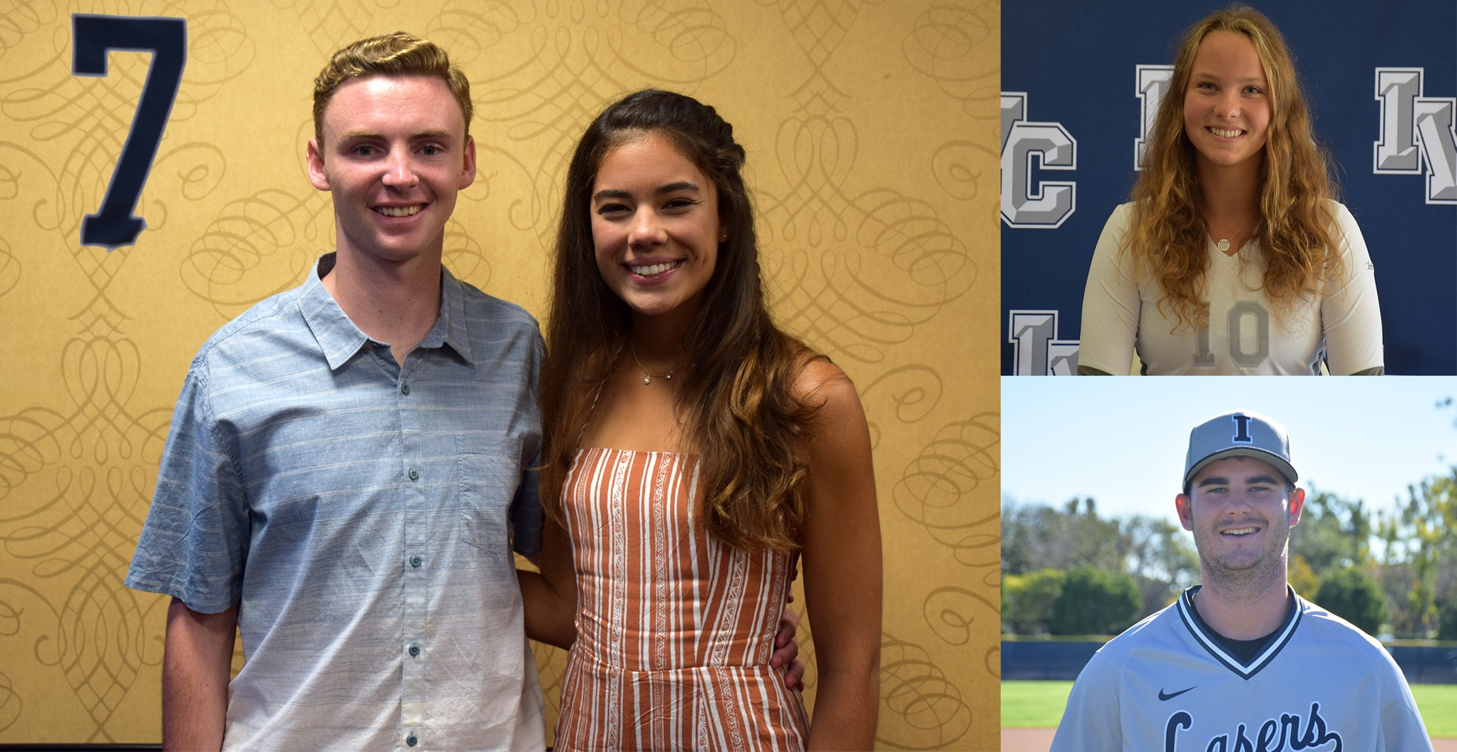No. 7 Story of the Year - Honoring athletes/scholars of the year