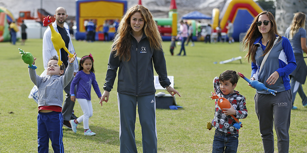 Lynn University's Annual Family Fun Day