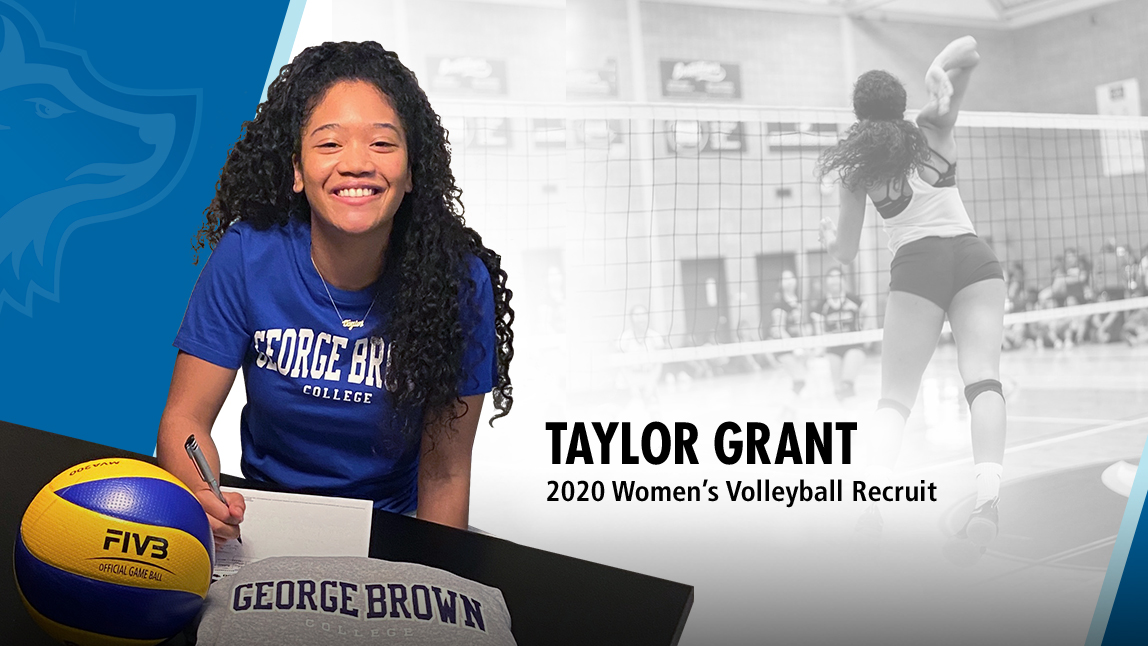 WOMEN'S VOLLEYBALL ADDS TAYLOR GRANT