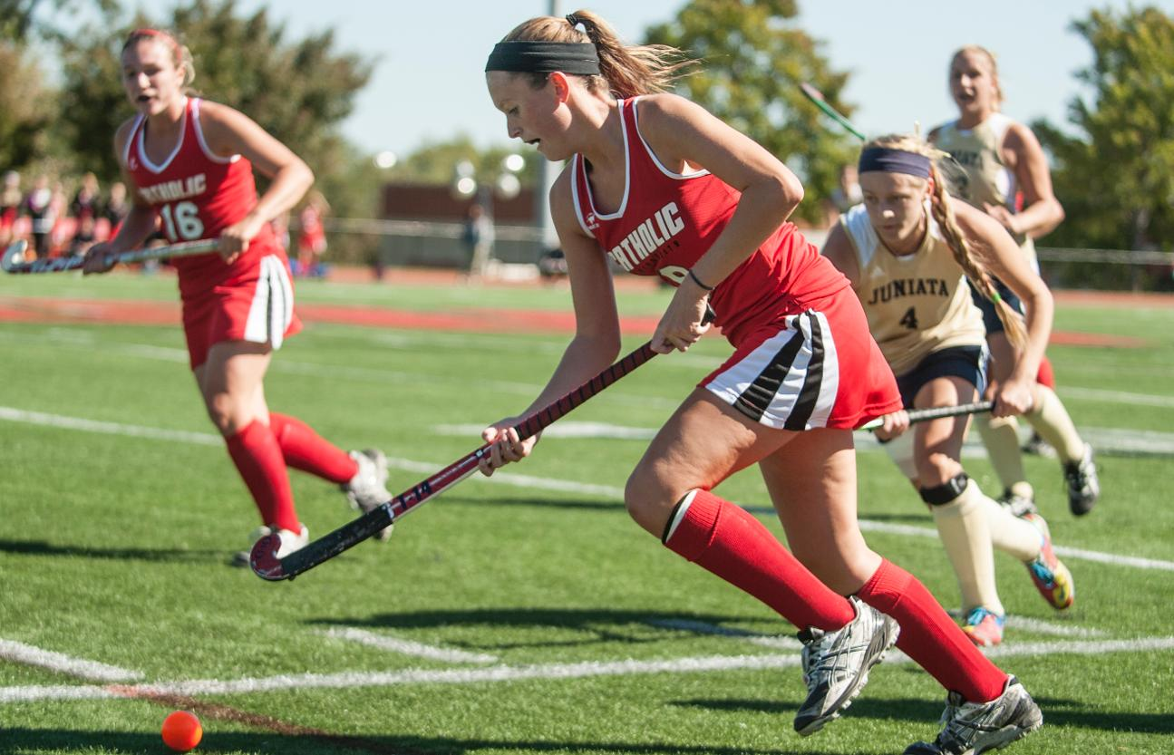 CUA Field Hockey Shuts Out Washington College In Home Opener