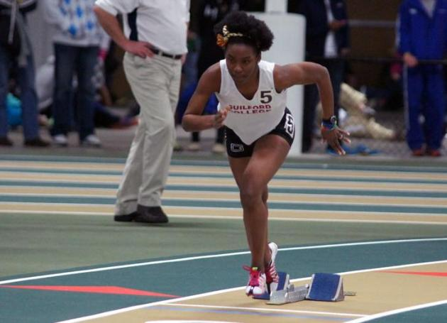 Guilford Women Compete at Raleigh Relays