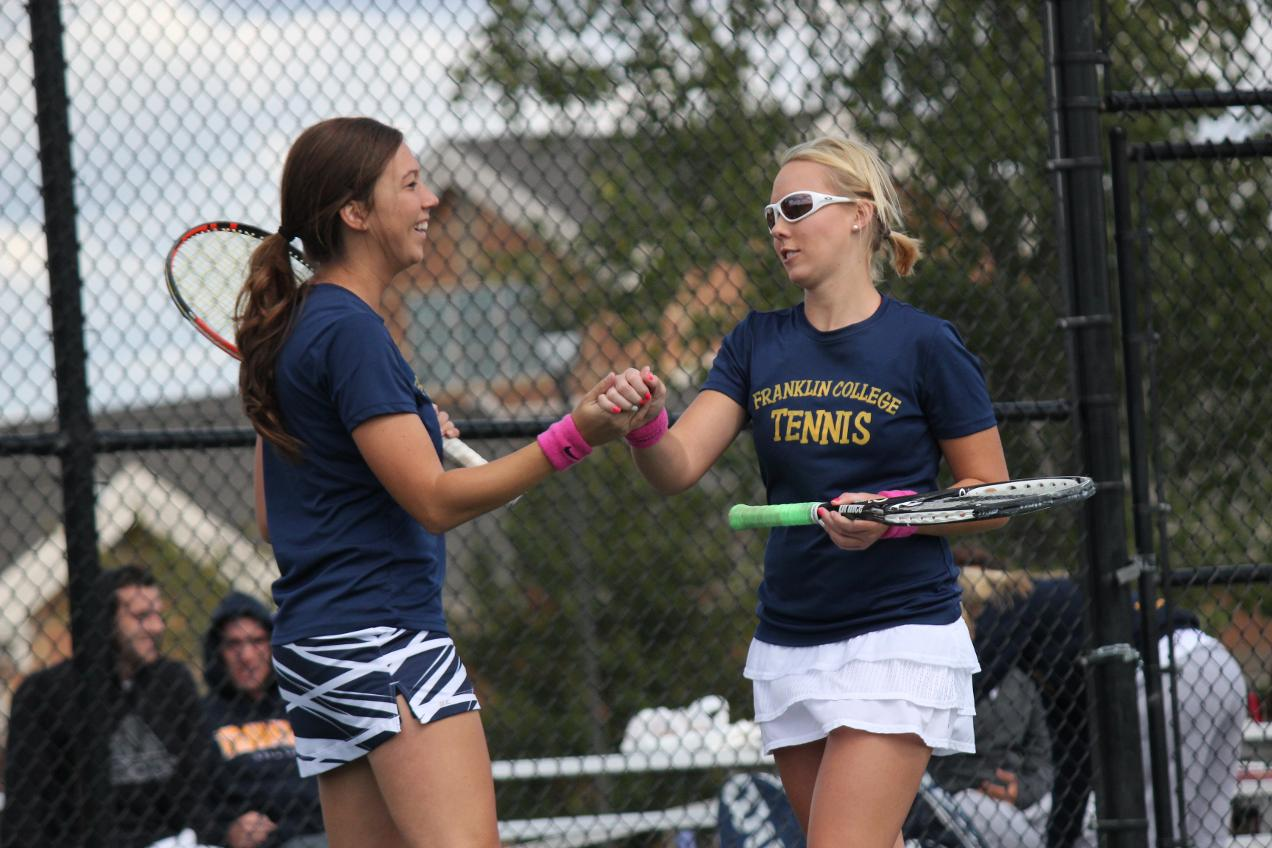Women's Tennis Opens HCAC Schedule with 9-0 Win over Mount St. Joseph
