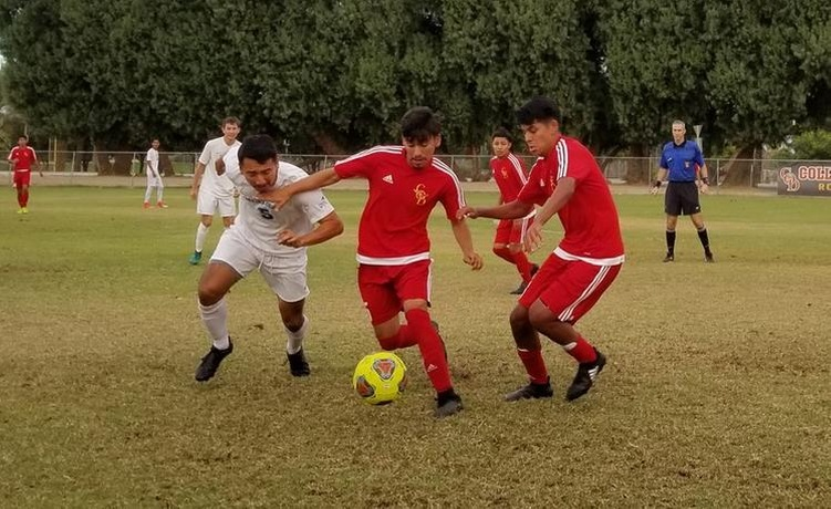COD Men's Soccer struggles on Sophomore Day face-off with Spartans, 2-0