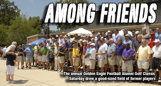 Golden Eagle football team holds annual Alumni Classic Golf outing