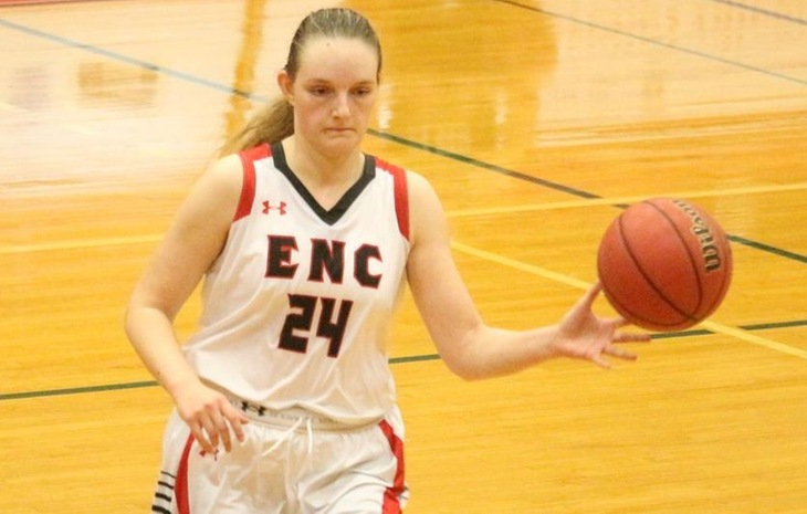 Fleharty, Torio Power Women's Basketball to 70-57 Victory Over Simmons