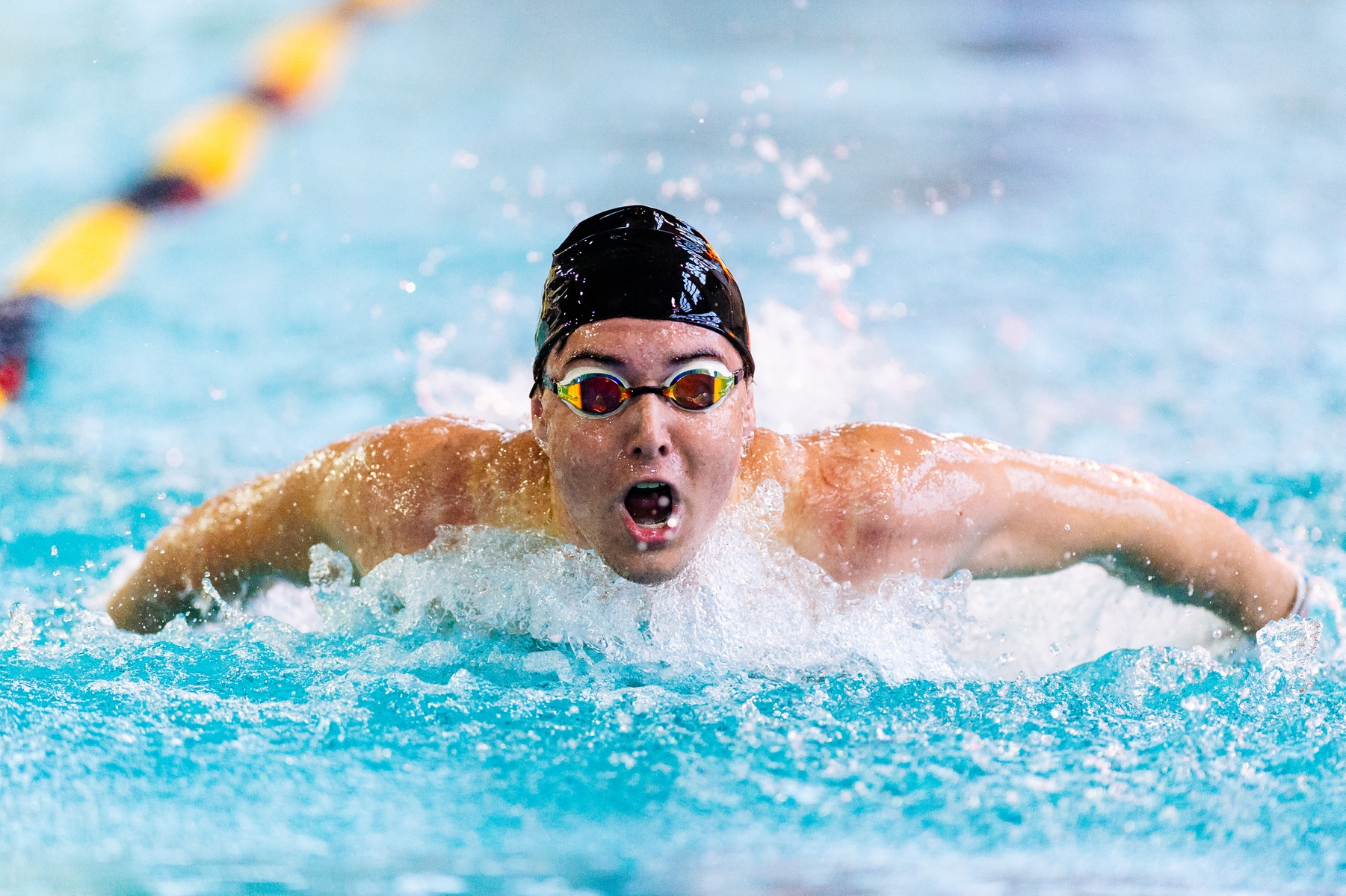 Men's Swimming and Diving Continues Strong Start With Victory Over Centenary