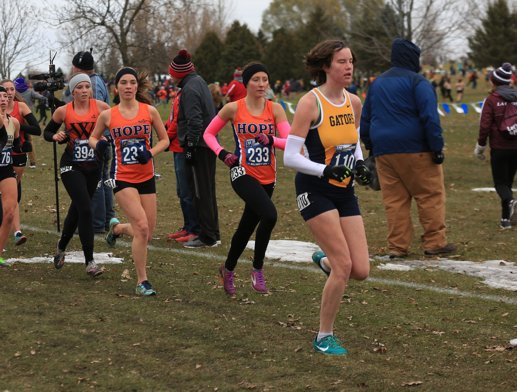 Two Hope runners race at nationals