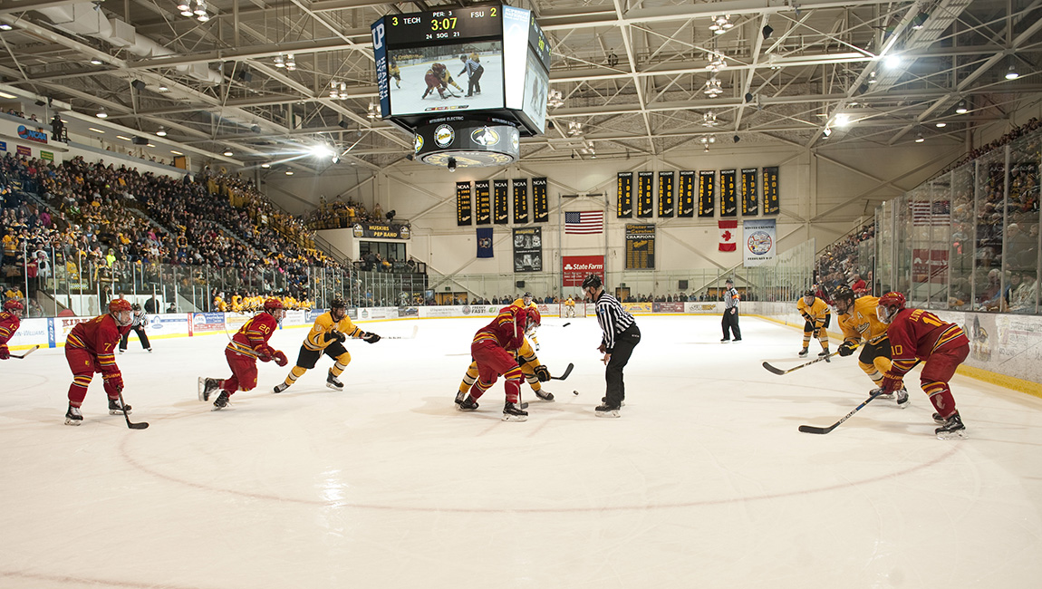 Ferris State Hockey Wraps Up Weekend With Road Split In Upper Peninsula