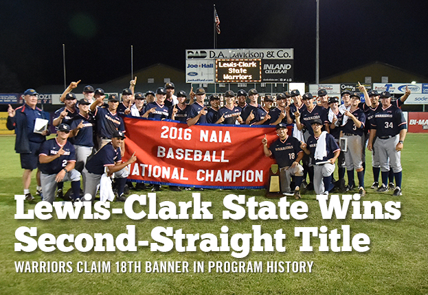 Lewis-Clark State Wins Second-Straight Title