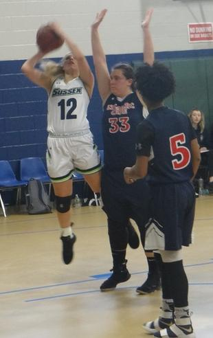 Alyssa Aragona scored 68 points in the two games this week for the Skylanders.