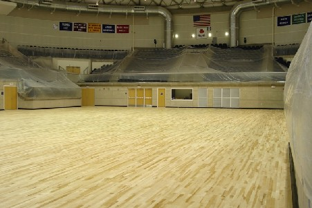 Storm Dome Floor Getting New Look