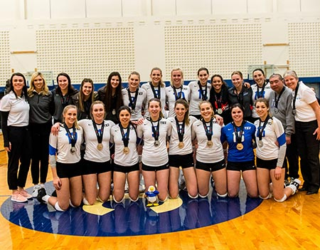Eagles Fly to Silver at 2018-2019 CCAA Women's Volleyball Championships