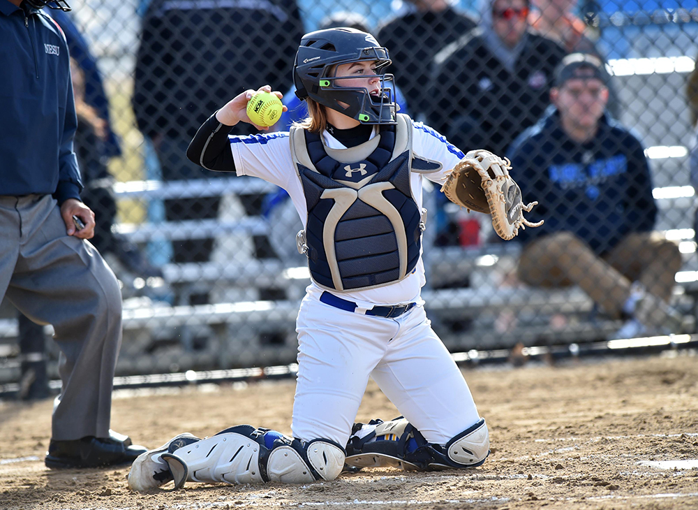 Softball Falters Against MCLA