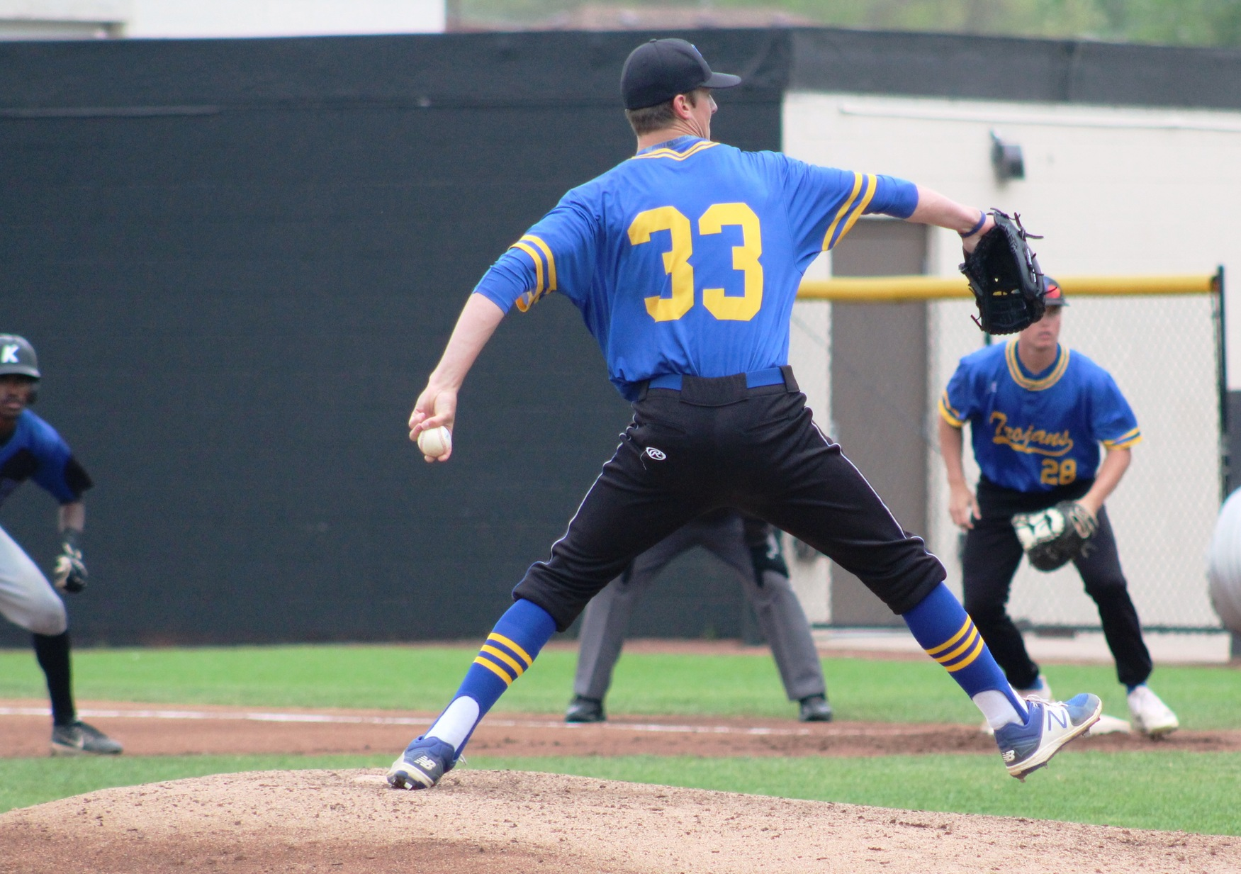 Sophomore left-hander Brandon Williamson was a first-team all-region selection.