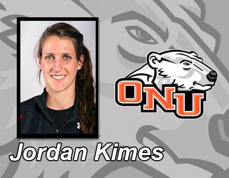Jordan Kimes posts another double-double to lift Women's Basketball past No. 17 John Carroll 74-71