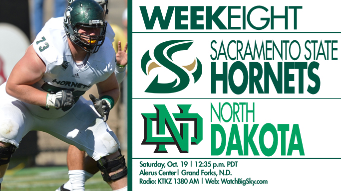 FOOTBALL MAKES FIRST TRIP TO NORTH DAKOTA IN 34 YEARS