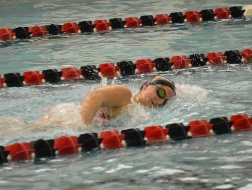 Catholic Swimming Squads Defeats Goucher