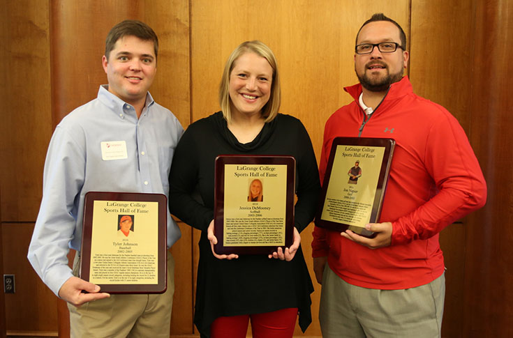 Three inducted into LaGrange Sports Hall of Fame