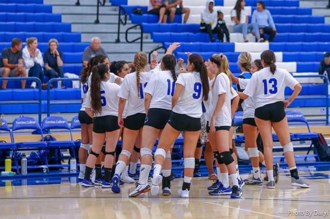 File Photo: The Falcons suffered a straight set loss to Riverside