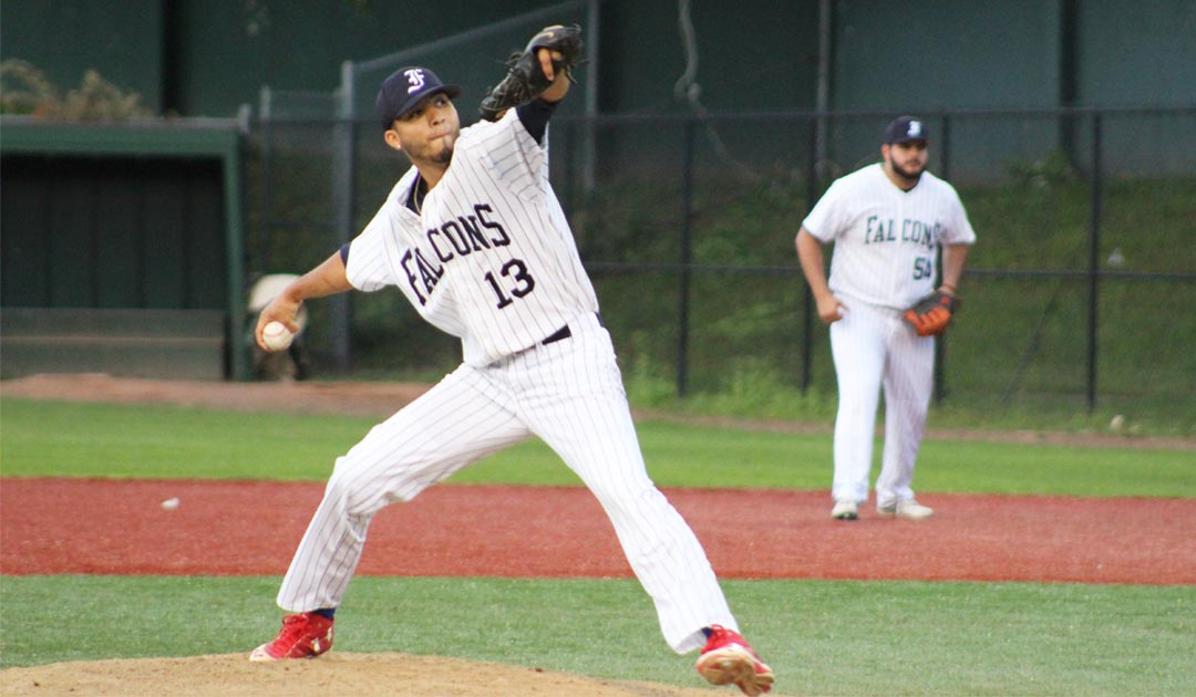 Nine Runs In The Ninth Propel The Falcons To Their 14th Victory