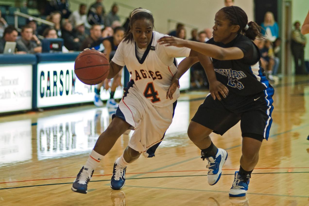 Lady Eagles shake off sloppy first half to defeat Brevard, 73-62