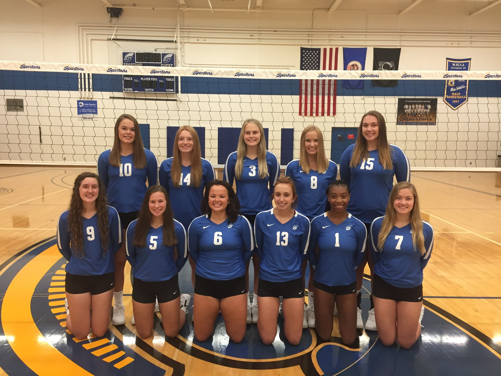 Spartan Volleyball Sweeps Western Tech