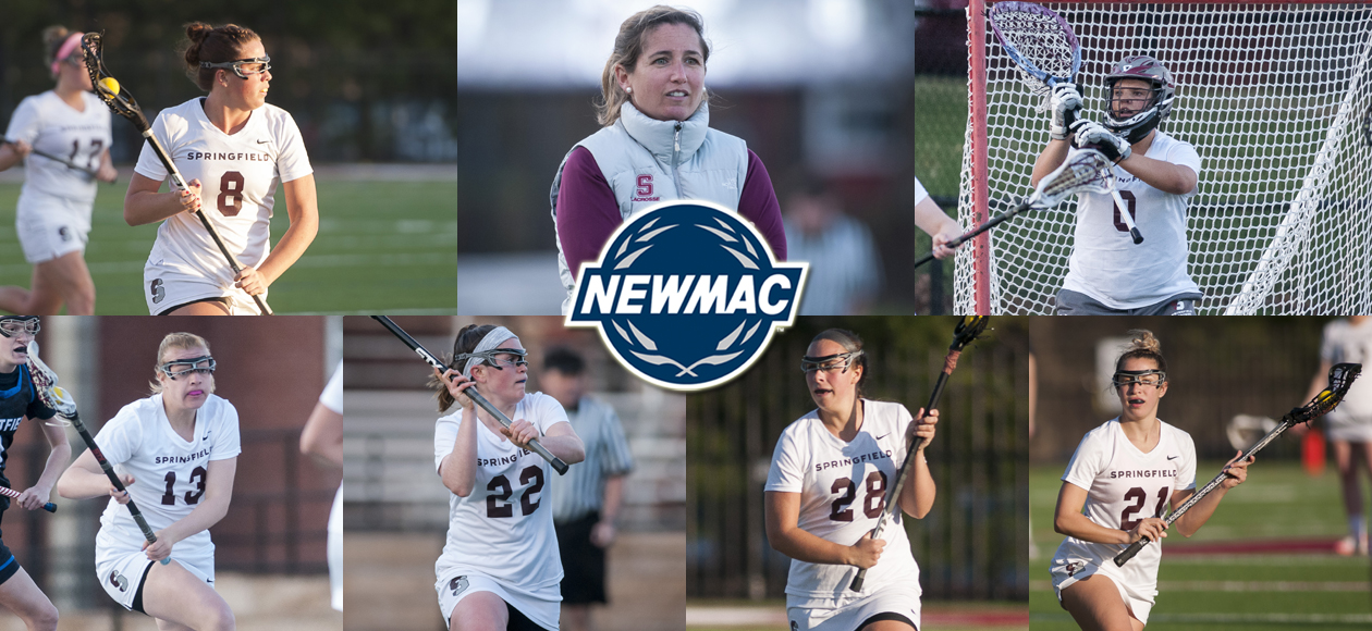 Corsano, Anderson and Mullady Highlight NEWMAC Women's Lacrosse Post-Season Honors
