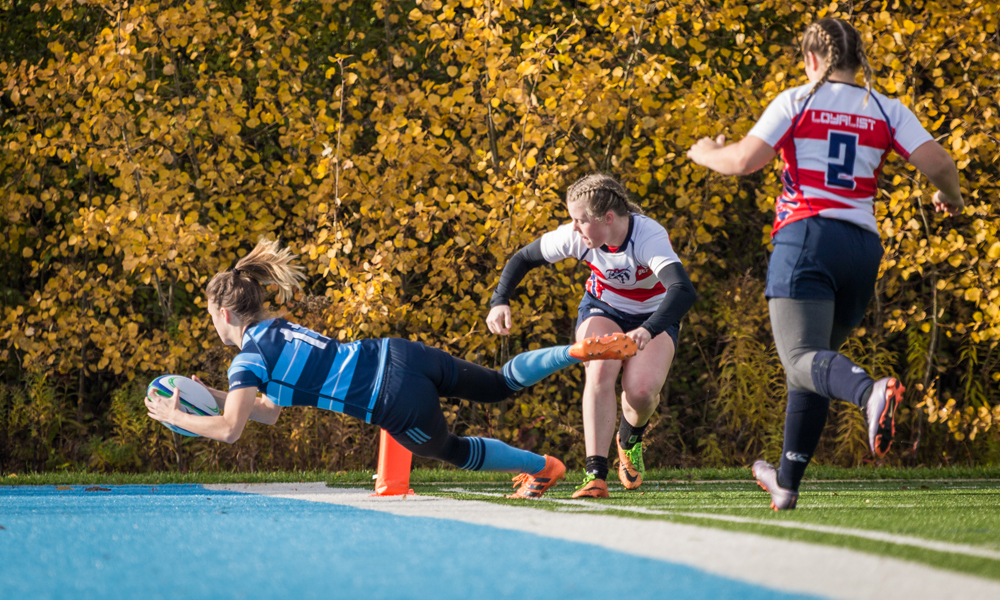Women's rugby knocked out of championship contention by Loyalist