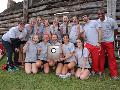 Cards soar to first Landmark Conference championship!