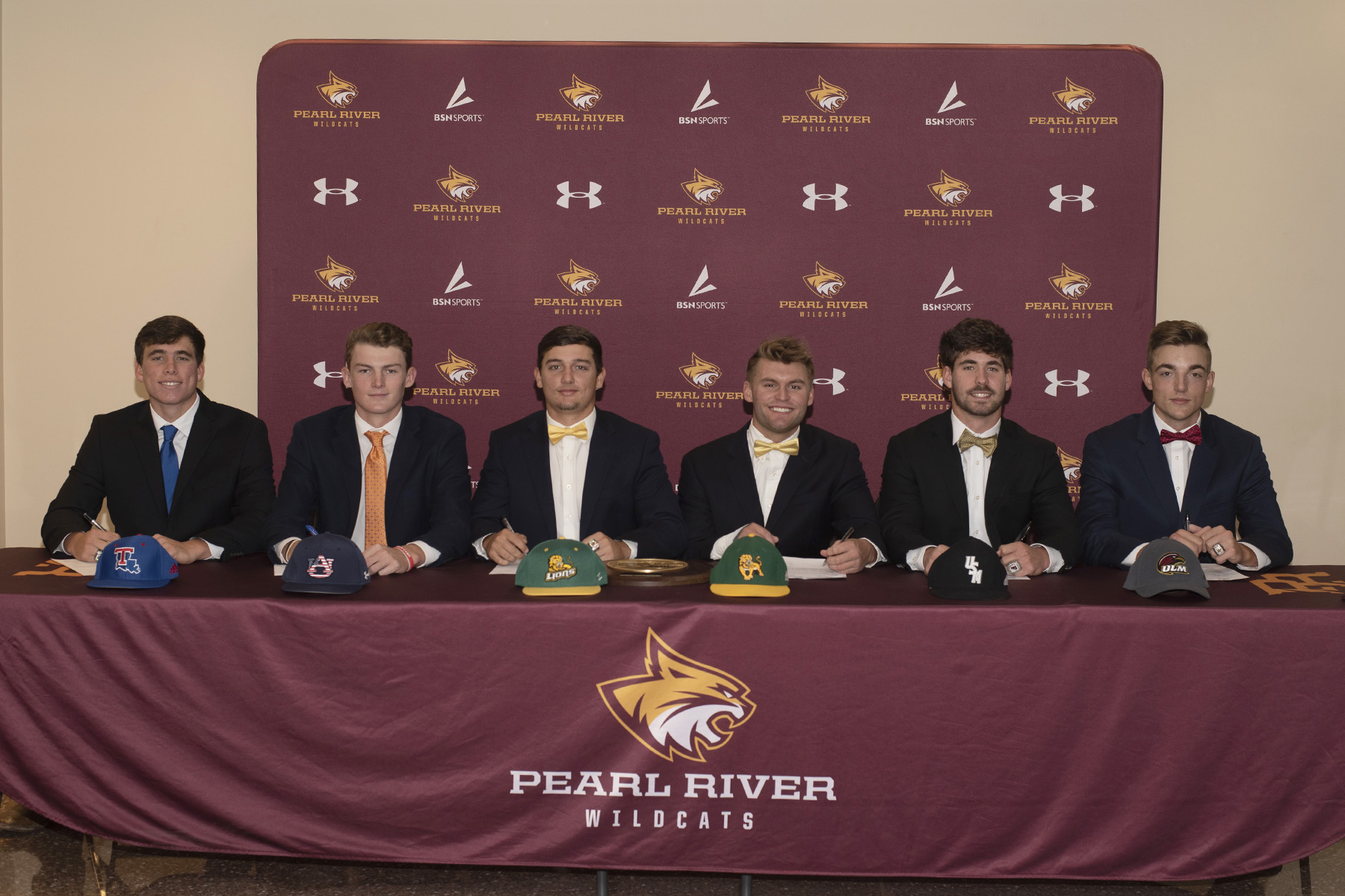 Six Pearl River Wildcats are headed to the next level